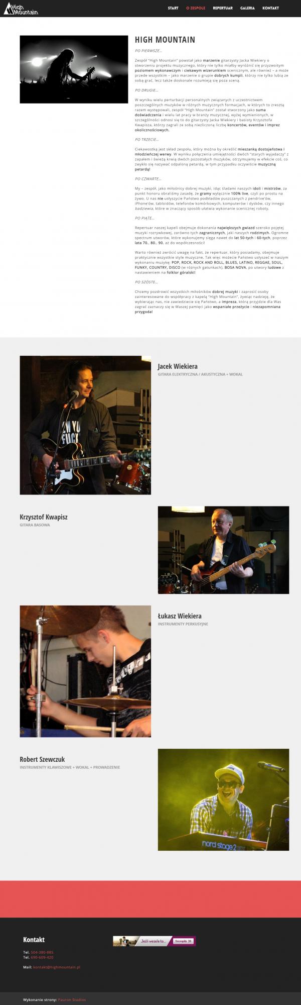 Pauron Studios for Musicians